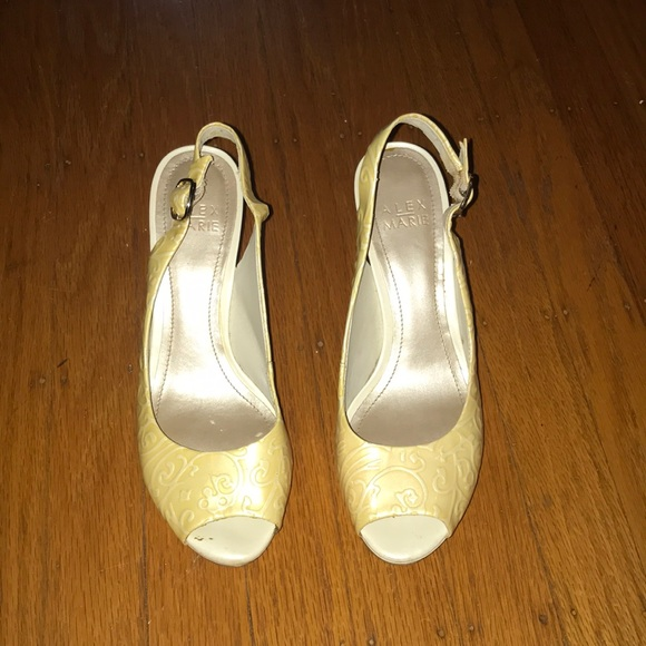 Alex Marie Shoes - Alex Marie open toe heels